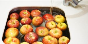 Lavado de frutas