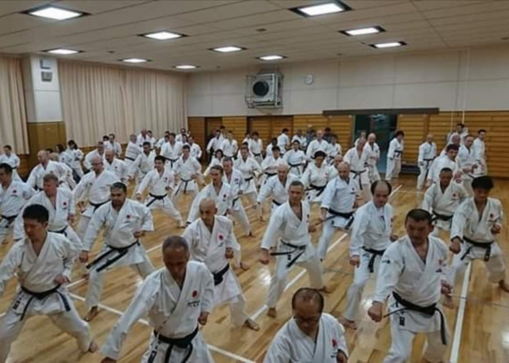 Japon Karate Carlos Carrasco